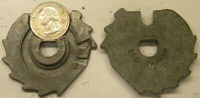 Used Oak Gumball Machine Coin Mechanism 25 Cent Replacement Coin Carrier