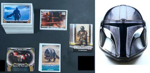 2020 Topps Star Wars Mandalorian Season 1- Master Set- 148 Cards + Tin