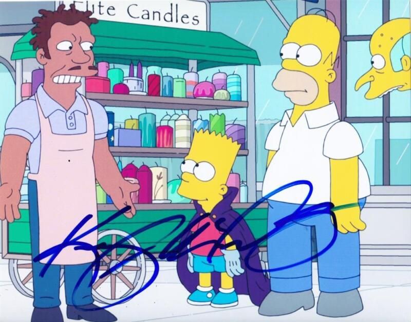 KEEGAN MICHAEL KEY SIGNED 8X10 PHOTO AUTHENTIC AUTOGRAPH THE SIMPSONS COA