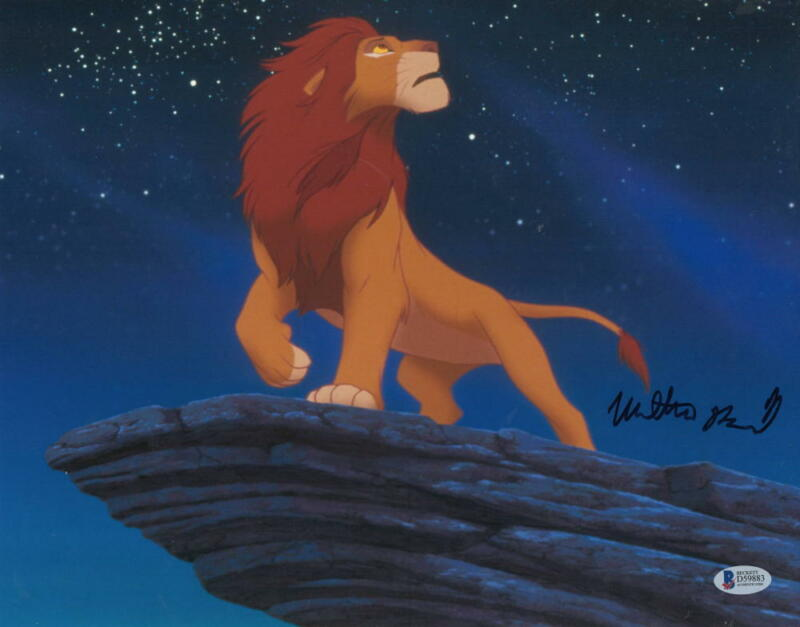 MATTHEW BRODERICK SIGNED 11X14 PHOTO THE LION KING AUTHENTIC AUTOGRAPH BECKETT B