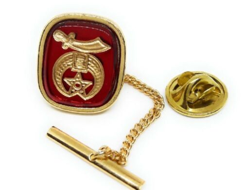 SHRINER TIE TACK / LAPEL PIN GOLD