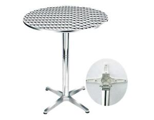 Table cocktail aluminium