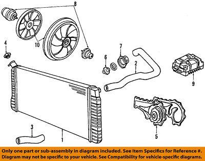 GM OEM-Engine Coolant Thermostat 12559807
