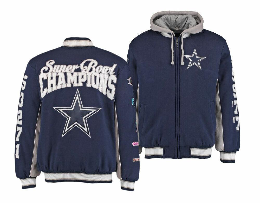 premium selection d52c2 88755 Dallas Cowboys Men's Commemorative Fleece Jacket L ...