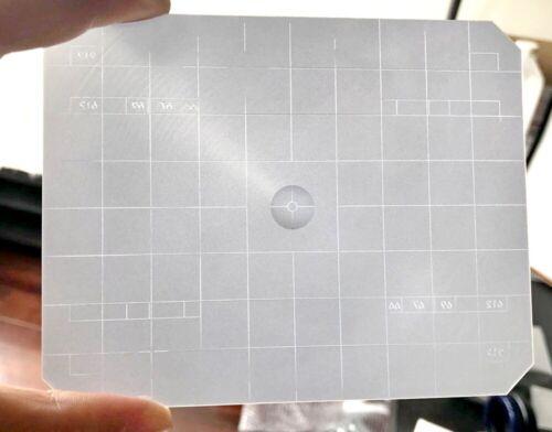 Bright 2in1 4x5 Ground Glass Fresnel Focusing Screen Toyo Wista Horseman Linhof