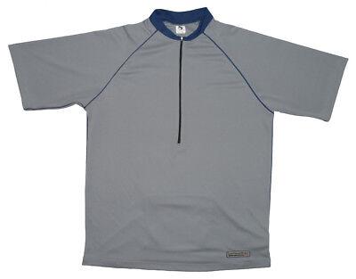 SALE Bellwether Sedona Cycling Jersey Men s MEDIUM M MD Short Sleeve Gray  Blue 8f256a0cc