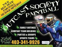 *PAINTBALL STORE & FIELD* OutCast Society Paintball - Red Deer