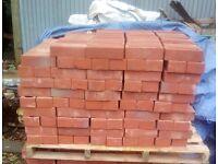 New red stock bricks
