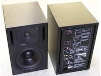Genelec 1030a active studio monitors.