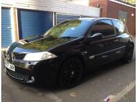 2008 RENAULT MEGANE 2.0 RS DCI 6 SPEED 175 BHP PAN-ROOF F1 ALLOYS LUX NOT ST 225 VXR GSI GTI TYPE R