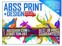 ABSS Print & Design - Best Price UK - Leaflets & Flyers, Takeaway Menus, Business cards + More