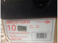 Umbro UX-1 Football Boots-New with box.