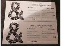 2 x Tickets for Scottish Wedding Show at SECC ~ £10
