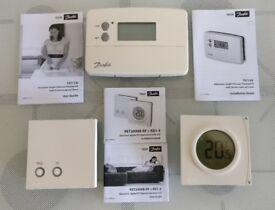Danfoss Central Heating Controls TS715Si / RET2000B-RF + RX1-S