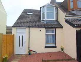 Semi Detached House, Ideal First Time Buyer Home, Set on the edge of the seaside town of Stevenston