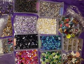 THOUSANDS jewellery pieces DIY please read below as not all is in pics £25 for all