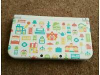 Nintendo 3ds XL Animal Crossing Console A9LH Freeshop Plus 35 Games On 64gb SD Card