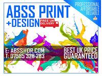 ABSS Print & Design | DESIGN + PRINT + DELIVERY! | Leaflets, Flyers, Folded Takeaway Menus ...