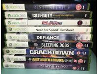 Xbox360 games good condition