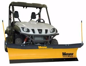 Brand New Meyer Light Utility Vehicle Snow Plow - Meyer Path Pro Snowplow for Light Utility Vehicle!