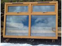 Double glazed casement window factory finsihed 1790 x 1190 mm'
