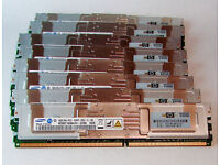 64GB / 8x8GB / 5300F fully buffered RAM for workstations and servers precision T7400
