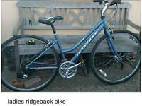 Ladies ridge back bike