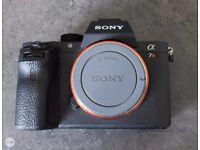 Sony A7Rii Camera, + Extra's