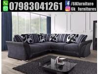 FREE DELIVER YLUXURY SHANNON CORNER OR 3+2 SEATER