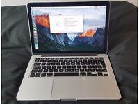 "Macbook Pro Retina 13"" (2015) 2.9Ghz SSD 512GB 8GB Ram"