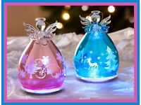 Glass LED Angel - Blue or Pink - £10 each or both for £15