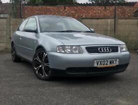 Audi A3 2002, 1.6 Petrol, hatchback 3 door, low mileage, QUICK SALE!