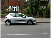 Forsale very low mileage Peugeot 207 1.4 only 43000 genuine mile cat d minor damaged repaired .