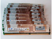 64GB / 6x8GB / 5300F fully buffered RAM for workstations and servers precision T7400