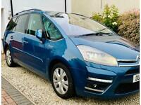 CITROEN GRAND PICASSO TOP SPEC PANORAMIC LEATHER SAT NAV XENONS 7 seater FACELIFT EXCLUSIVE diesel
