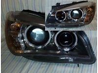 Left hand drive European Bixenon headlight BMW X1 E84 2009 - 2015 LHD for MOT TUV APK CT ITV