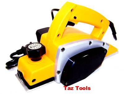 "Electric Planer Power Heavy Duty Hand Wood Planer 3-1/4"" Woodworking Surface New"