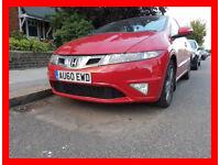 Cheap-- 2010 Honda Civic i-VTEC Si Hatchback 5dr -- 85000 Miles -- Drives Good -- Part Exchange OK