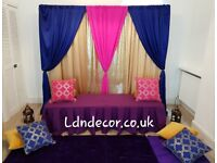 Mehndi decor London for Home, Marquees & Halls from £150