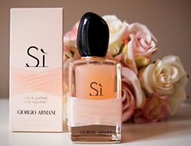 giorgio Armani si rose EDP 100ml genuine