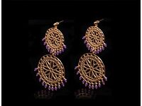 Designer Gold-plated Sterling Silver Earring Jewellery