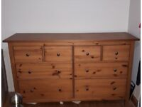 Beautiful large chest of drawers.