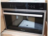 NEW Hotpoint integrated Microwave Oven Grill MWX431 LUCE touchscreen 40 Litre built in