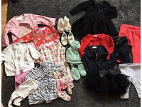 Baby girls clothing bundle up to 6-9 months NEXT