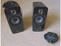 Creative Multimedia PC Speakers. T10