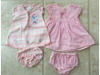 Baby girls clothing bundle for age 3-6 months 38 items