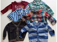 Bundle of Boys Clothes 3-6 Months