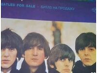 Hard to find Russia release Beatles For Sale In excellent condition vynil and unique cover