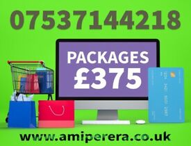 ⭐ E-commerce Web Development | Logo Design | SEO & SMO | Packages from £375