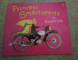 Princess Smarty pants book Babette Cole